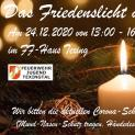 Friedenslicht-Abholung am 24.12.2020